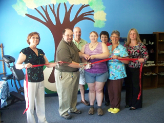 Path to Integrative Healing Ribbon Cutting
