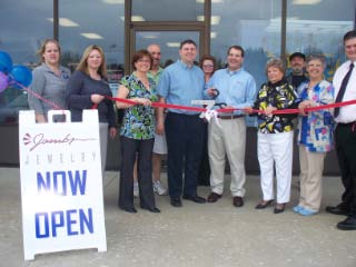 Jambs Jewelry Ribbon Cutting